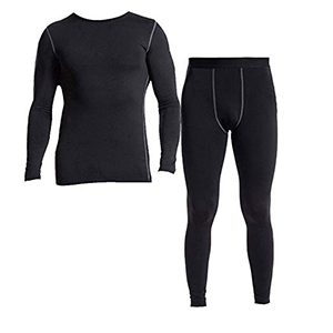 Minghe Men's 2pc Thermal Underwear Set Ultra Soft Fleece Lined Long Johns