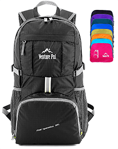 Venture Pal Lightweight Packable Durable Travel Hiking Backpack