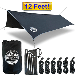 The Outdoors Way Best Camping Tarp
