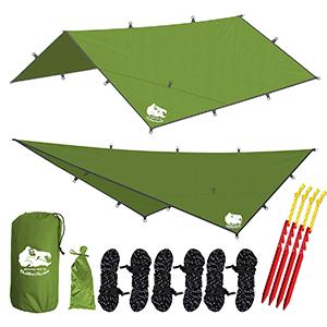 Chill Gorilla 12x12 Best Camping Tarp