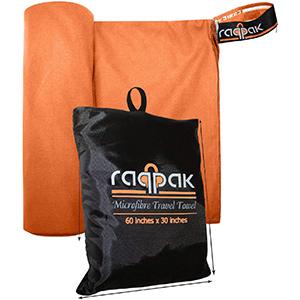 Best raqpak microfiber Backpacking Towel