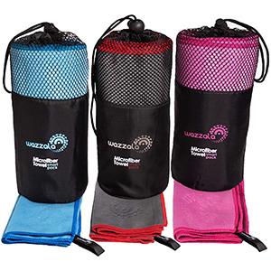 Best Wazzala Premium Microfiber Backpacking Towel